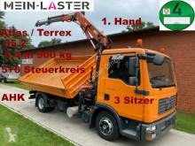 Camión volquete MAN TGL 8.180 3 S-Kipper Atlas 65.2 6,4 m -900 kg,