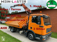 Camion MAN TGL 8.180 3 S-Kipper Atlas 65.2 6,4 m -900 kg, ribaltabile usato