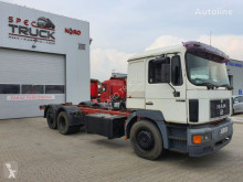 Camião MAN 26.403,6x2, Steel /Air, Manual Pump, Manual ZF, chassis usado