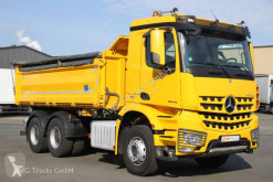 Mercedes three-way side tipper truck Arocs 2645 K 6X4 Meiller Bordmatik Retarder