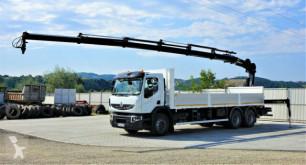 Ciężarówka Renault Premium 370 DXI Pritsche 7,60m+Kran/FUNK*6x4! platforma używana