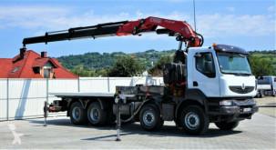 Камион пътна помощ Renault KERAX 410DXI Abschleppwagen 6,30m+Kran/FUNK*8x4!