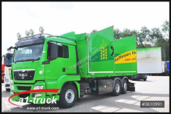 Camion benne occasion MAN TGS 26.440 BL / 3 Kammern, Schleuse, Kompressor