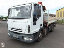Camion multibenne occasion Iveco Eurocargo 75 E 17