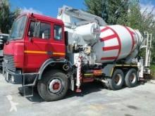 Used concrete mixer + pump truck concrete truck Iveco 330.36