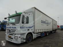 Used tautliner trailer truck Mercedes Actros 1836