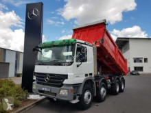 Mercedes Actros 4141 K 8X4 Meiller manual gear Retarder truck used three-way side tipper