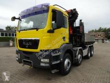 Gebrauchter LKW Pritsche MAN TGS 35.440 Abrollkipper+PK29002 9xhydr. Jib Seil