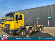 Camion MAN 35 464 manual full steel 12 tyres châssis occasion
