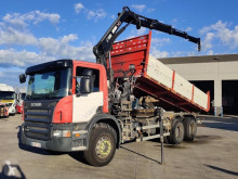 Scania P 380 truck used three-way side tipper