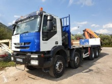 Iveco Trakker 340 T 45 truck used flatbed