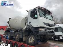 Camion béton toupie / Malaxeur accidenté Renault Kerax 410 DXI