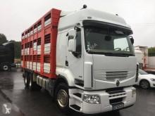 Camión remolque ganadero para ganado bovino Renault Premium 450 DXI