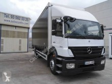 Mercedes Axor 1829 truck used tautliner