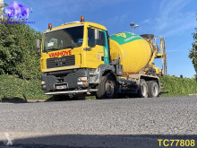 MAN TGA truck used concrete mixer