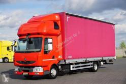 Camión lona corredera (tautliner) Renault Midlum - / 220.08 / EURO 5 / FIRANKA / 19 PALET