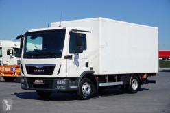 Camion fourgon occasion MAN TGL - / 10.220 / E 6 / KONTENER + WINDA / 11 PALET