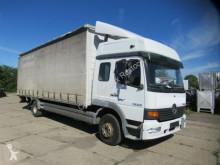 Mercedes 12.28 Gardine, Ladebord 1,5 to, Bett, Klima truck used tarp