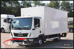 Used box truck MAN TGL 8.190 BL, AHK, 3 Sitze, LGSTÜV 09/2021