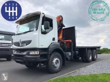 Camion plateau occasion Renault Kerax 380 DXI