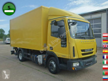 Camion Iveco EuroCargo ML 75 E 16 P LBW Koffermaßen 4,6m x 2, fourgon occasion