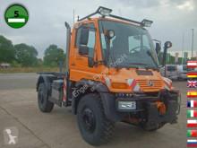 Unimog U500 405/40 VarioPilot EURO 5 KLIMA SFZ LKW gebrauchter Pritsche Bracken/Spriegel