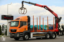 MAN Holztransporter TGS 26.440/6X4/L: 6,4M/ EPSILON M110Z/10 UNITS!!
