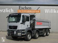 Camión MAN TGS 35.440 BB, 8x4,Langendorf Mulde, EUR5, Klima multivolquete usado