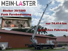 Camião Mercedes 1717 Böcker 30-1000 30 Meter 1.000 kg Funk FB estrado / caixa aberta usado