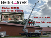 Camion Mercedes 1717 Böcker 30-1000 30 Meter 1.000 kg Funk FB plateau occasion