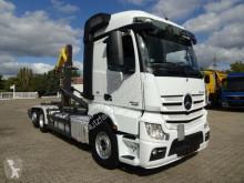 Mercedes Actros 2545 Abrollkipper MEILLER Lenk-Lift truck used skip