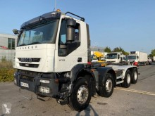 Camion polybenne occasion Iveco Trakker 410