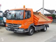 Camion benă trilaterala Mercedes Atego 818 K 2-Achs Kipper Meiller 3-Seiten Stahl