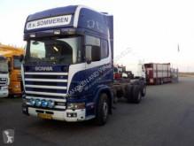 Camión Scania 6X2 para ganado usado