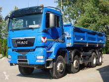 Used tipper truck MAN TGS 35.440 8x8 EURO5 DSK Mit Bordmatik TOP!
