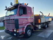 Scania flatbed truck R 113
