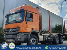 Mercedes timber truck Actros 3346