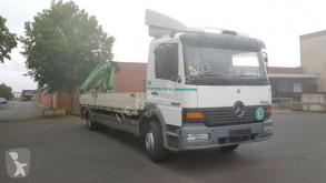 Mercedes 1228 Pritsche mit Kran truck used dropside