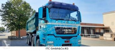 Camion MAN TGS35.400 8x4 Mulden/Kipper Klima Blatt/Blatt ribaltabile usato