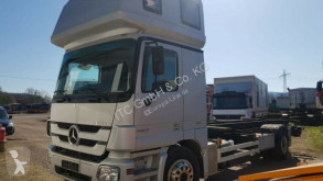 Used chassis truck Mercedes 1831 1832 BDF Top Zustand Klima Stande.