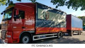 Camión lona corredera (tautliner) DAF 105-460XF Euro:5EEV Pritsche Plane