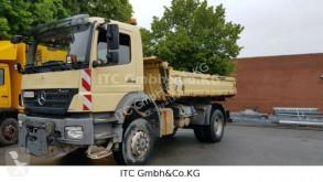 Used three-way side tipper truck Mercedes 1833AK Axsor 4x4 Kipper+ Winterdiens