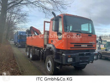 Camion cassone Iveco 260EH38 6x6 Pritsche +Kran PK23080B Funk