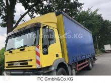 Camion savoyarde occasion Iveco 260EH310PS Plane Spriegel mit Kran