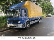 Used tarp truck Mercedes Atego 1218 BL/4x2 (E4) Plane/Spr. LBW Standh.