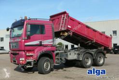 MAN three-way side tipper truck 26.480 TGA BB 6x6, Allrad, Bordmatik, Klima