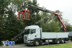 Kamyon Scania G 440 6x2, Kran Fassi F240ASXP, Retarder, klima taban tenteler ikinci el araç