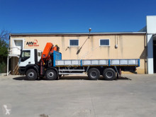 Iveco 360 8x4 PALFINGER PK 44002 AÑO 2008 truck used flatbed