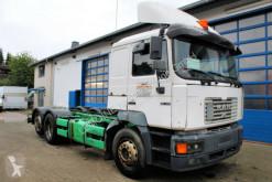 MAN 26.414 6x2 F2000 Chassi + Hydraulik Doppel-H LKW gebrauchter Fahrgestell