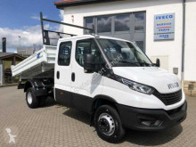 Camión volquete volquete trilateral Iveco Daily 70 C 18 H D Meiller+Klimaauto+Standh.+DAB